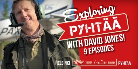 Exploring Pyhtää with David Jones